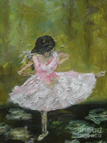 Painting - Little Dansarina by Reina Resto