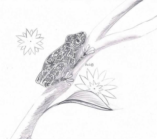 Little Emma  Art Print by Kali Kardsbykali