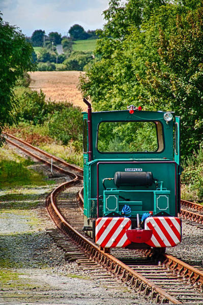 Suir Photograph - Little Engine by Martina Fagan