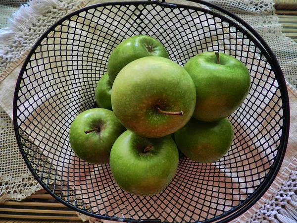 Photograph - Little Green Apples by Grace Dillon