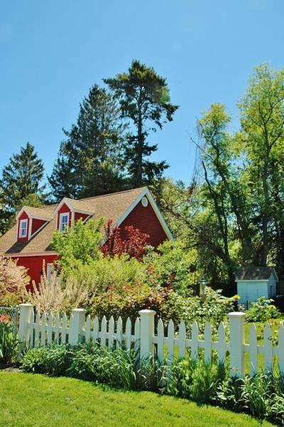 Allerton Garden Photograph - Little House In The Garden by Jeannie Allerton