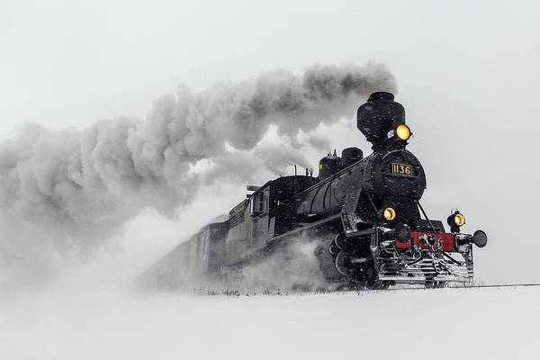 Steam Engine Photograph - Little-jumbo by