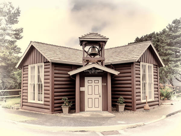 Photograph - Little Log Church by HW Kateley