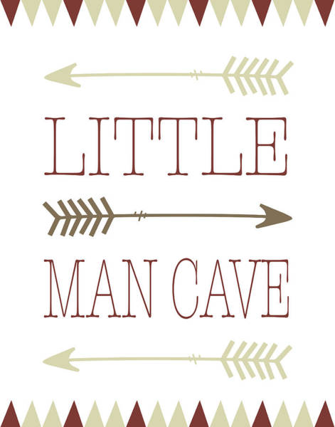 Kids Room Painting - Little Man Cave by Tara Moss