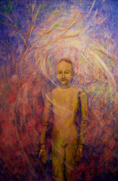 Painting - Little Man Number Six by Nancy Wait
