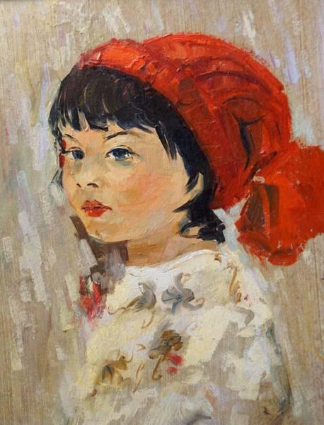 Painting - Little Marsi by Sefedin Stafa