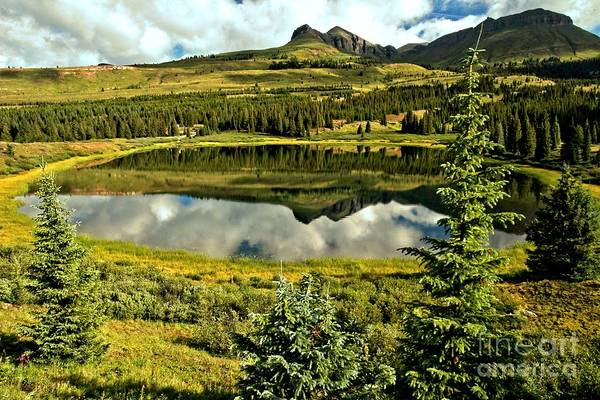 Photograph - Little Molas Lake by Adam Jewell