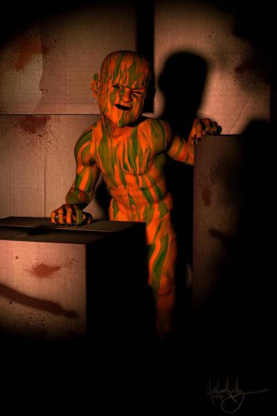 Digital Art - Little Monster by Matt Lindley