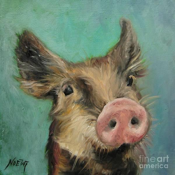 Little Piglet Art Print