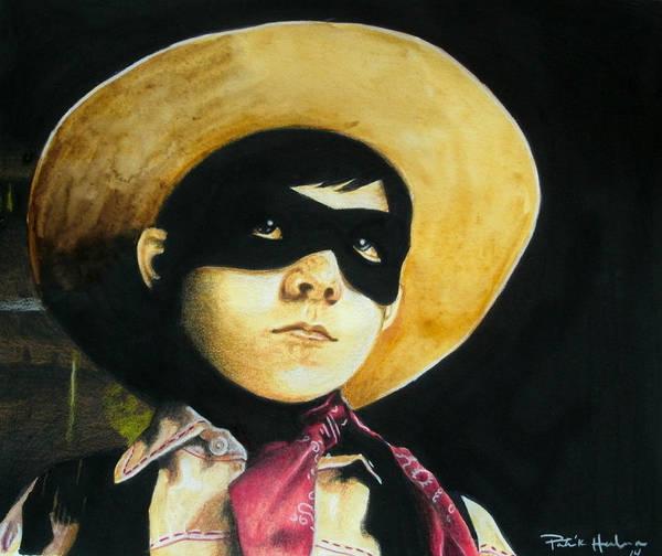 Novelties Painting - Little Ranger by Patrick Harden