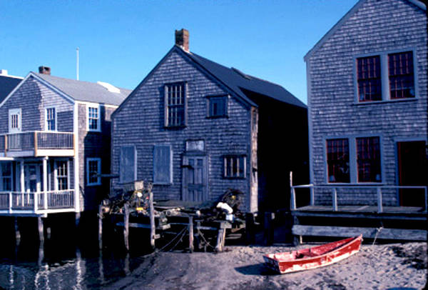 Photograph - Little Red Boat On Nantucket by Joy McKenzie