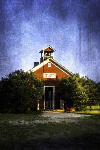 Photograph - Little Red Schoolhouse by Judy Hall-Folde