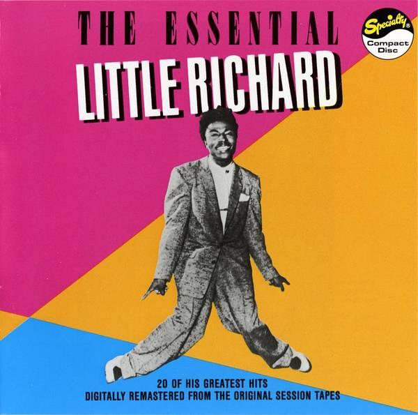 Wall Art - Digital Art - Little Richard -  The Essential Little Richard by Concord Music Group