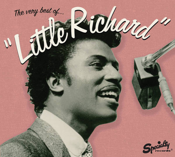 Richard Digital Art - Little Richard -  The Very Best Of by Concord Music Group