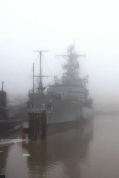 Photograph - Little Rock In Fog by Guy Whiteley