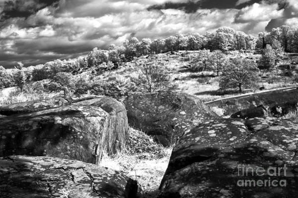 Photograph - Little Roundtop Overlooking Devils Den by Paul W Faust -  Impressions of Light
