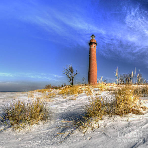 Hart Wall Art - Photograph - Little Sable In Winter by Twenty Two North Photography