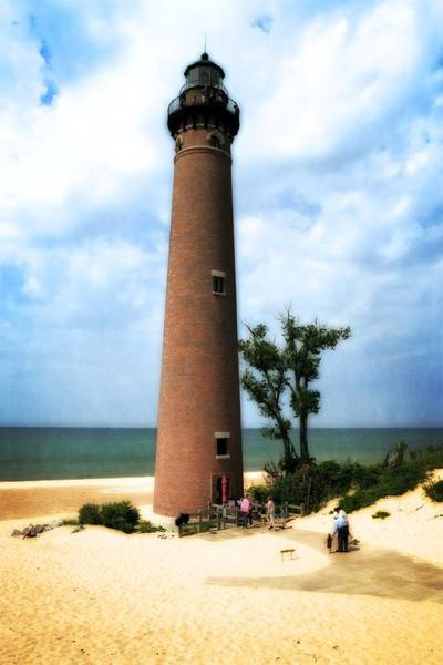 Photograph - Little Sable Point Light by Michelle Calkins