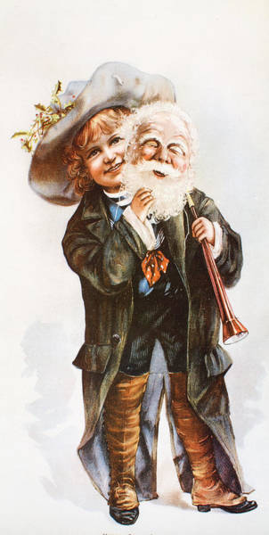 Digital Art - Little Santa Clause by Unknown