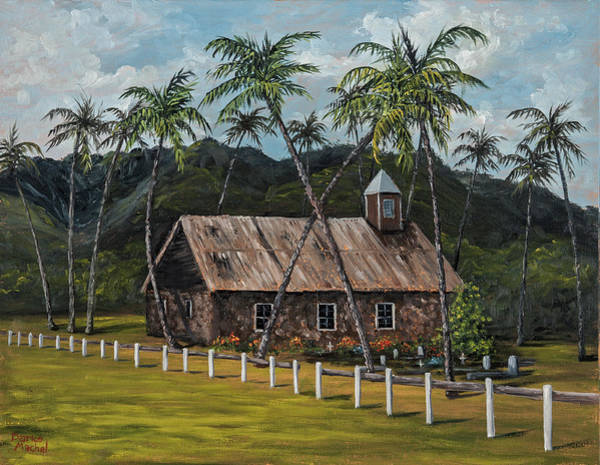 Painting - Little Stone Church by Darice Machel McGuire