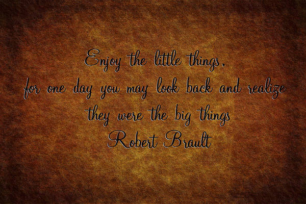 Little Things Photograph - Little Things by Sennie Pierson