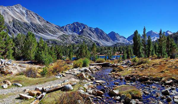 Eastern Sierra Photograph - Little Valley Trail John Muir Wilderness by Scott McGuire