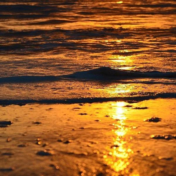 Bright Photograph - Little Wave by Alexa V