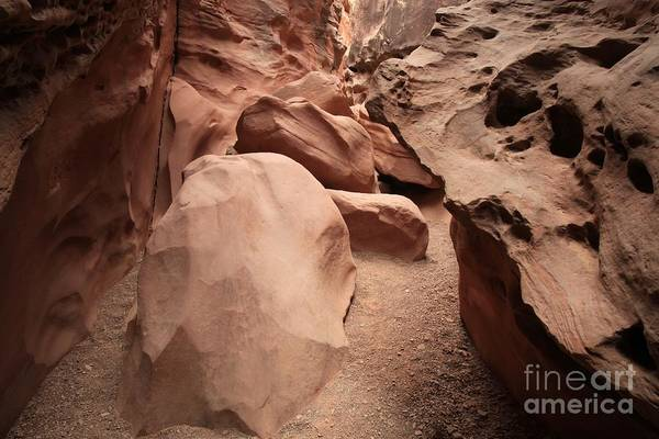 Photograph - Little Wildhorse Choke Stones by Adam Jewell
