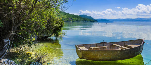 Photograph - Little Wooden Boat by Sotiris Filippou