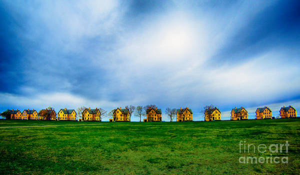 Photograph - Little Yellow Houses by Mark Miller