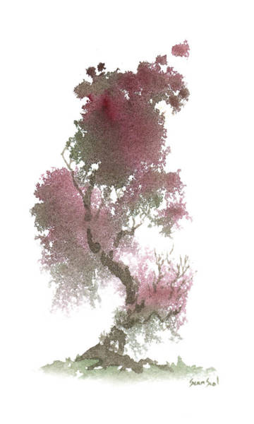 Painting - Little Zen Tree 1117 by Sean Seal
