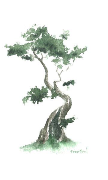 Wall Art - Painting - Little Zen Tree 632 by Sean Seal
