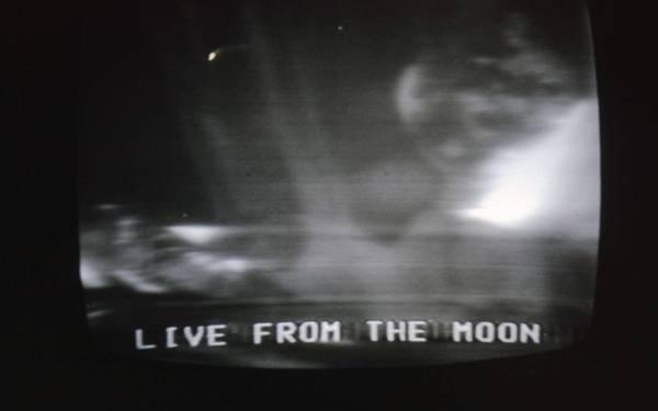 John Schneider Wall Art - Photograph - Live From The Moon by John Schneider