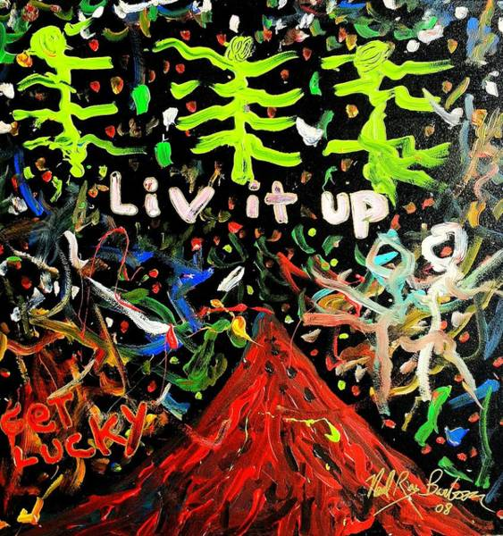 Painting - Live It Up by Neal Barbosa