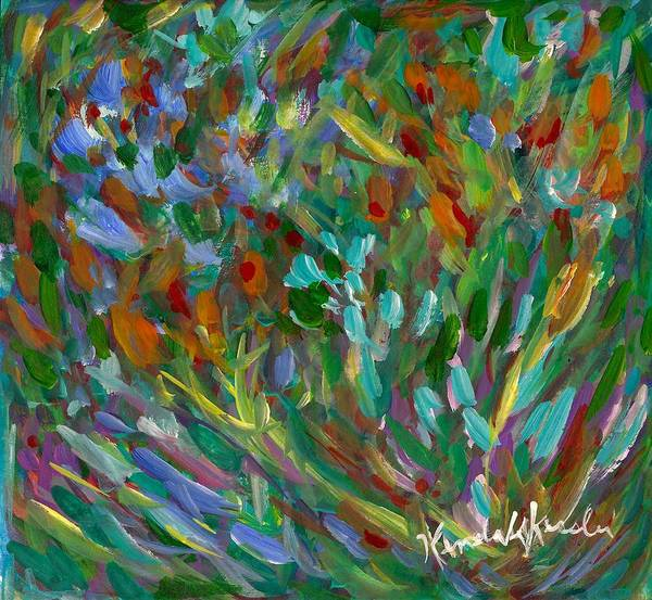 Painting - Lively by Kendall Kessler