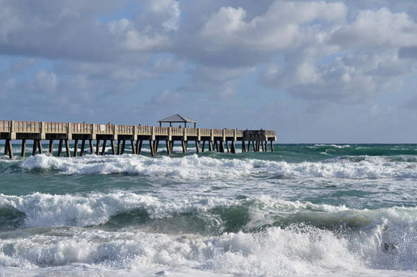 Wall Art - Photograph - Lively Surf At Juno by Laura Fasulo