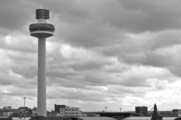 Capital Of Georgia Photograph - Liverpool Skyline With Radio City Tower by Georgia Fowler
