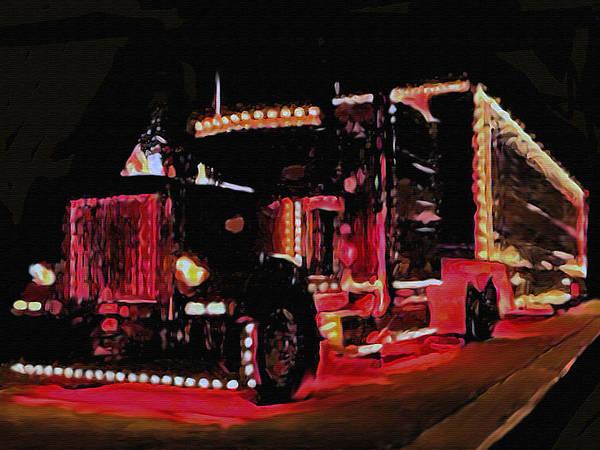 Custom Truck Painting - Livin Large by Dennis Buckman