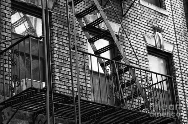 Photograph - Living In Chinatown Nyc Mono by John Rizzuto