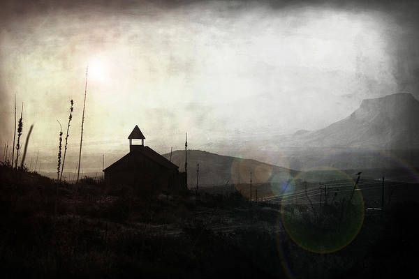 Holy Ghost Photograph - Living In Ghost Town by Trish Mistric