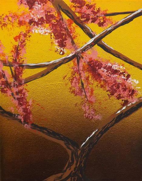 Painting - Living Loving Tree Bottom Center by Darren Robinson