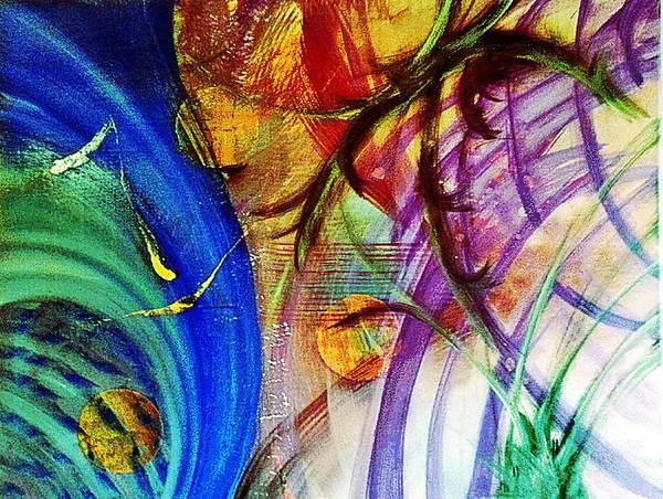 Michael Ferguson Wall Art - Painting - Living by Michael Ferguson