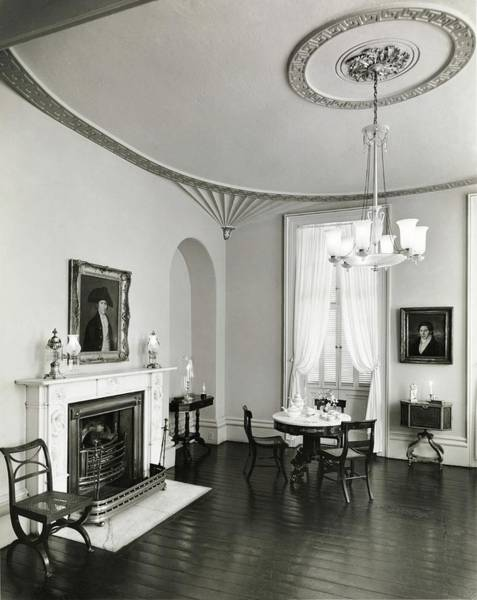 Chatham Photograph - Living Room In Owens-thomas House by William Grigsby