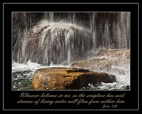 Photograph - Living Water by Carolyn Marshall