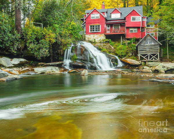 Mill Shoals Falls Wall Art - Photograph - Living Waters by Anthony Heflin