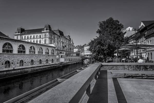 Ljubljana - Central Market Art Print