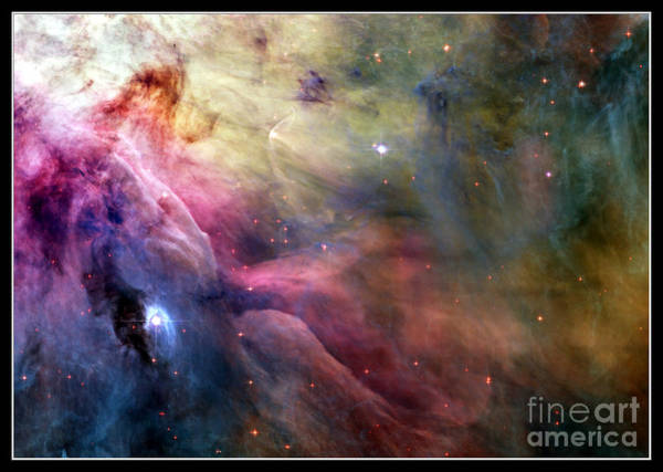 Photograph - Ll Ori And The Orion Nebula Nasa by Rose Santuci-Sofranko