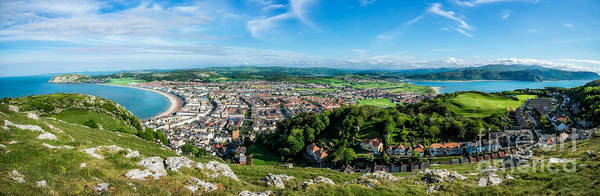 West Bay Photograph - Llandudno Panorama by Adrian Evans