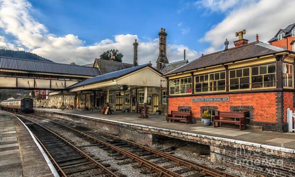 Railway Station Photograph - Llangollen Station by Adrian Evans