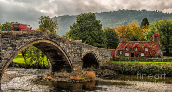John I Photograph - Llanrwst Cottage by Adrian Evans